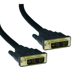 DVI Video Cable DVI-D Single Link Cable, DVI-D Male, 3 meter (10 foot)