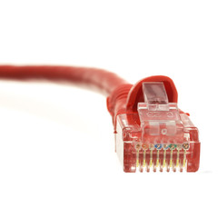 CAT 6 Cable Cat6 Red Ethernet Patch Cable, Snagless/Molded Boot, 6 inch