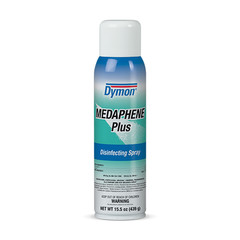Disinfectant Sprays & Cleaners Case of 12 - Dymon Medaphene Plus Disinfectant Spray, Spray, 15.5 oz