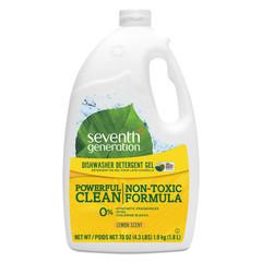 Cleaning Products Seventh Generation Natural Automatic Dishwasher Gel, Lemon, Jumbo 70 oz Bottle