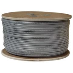 Phone Cable Bulk Bulk Phone Cord, Silver Satin, 26/4 (26 AWG 4 Conductor), Spool, 1000 foot
