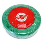 Security/Alarm Wire, Green, 22/2 (22AWG 2 Conductor), Stranded, CMR / In-wall rated, Coil Pack, 500 foot