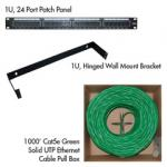 Cat5e Basic Network Kit (Green)