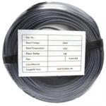 Security/Alarm Wire, Gray, 22/2 (22AWG 2 Conductor), Solid, CMR / In-wall rated, Coil Pack, 500 foot